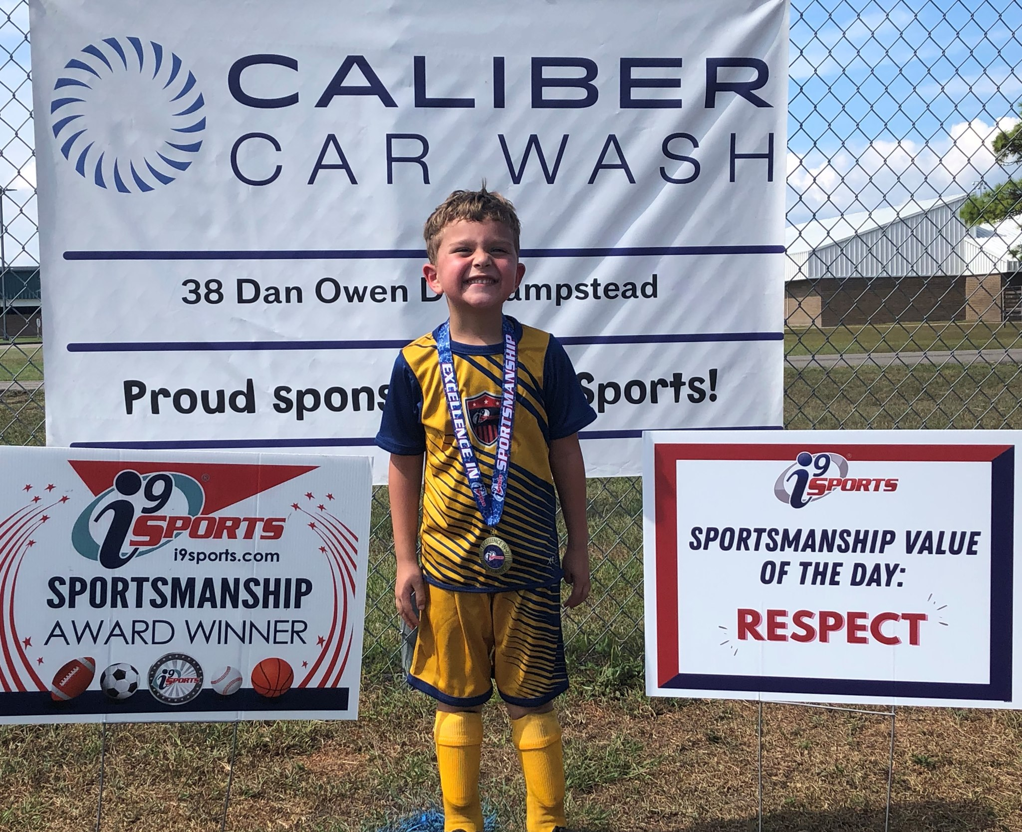 Caliber and i9 Sports Program Team Up To Give Back